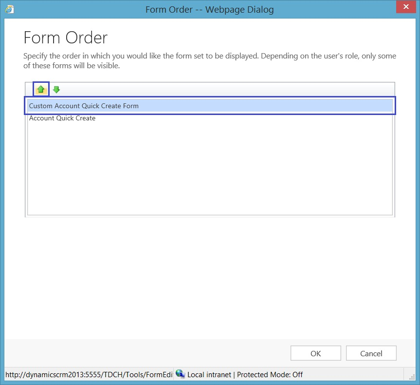 Understanding and Using Quick Create Form in Microsoft Dynamics ...